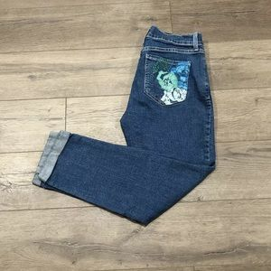 NYDJ Not Your Daughters Jeans Size 6 Ankle Floral